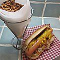 Hot-dog comté, choucroute