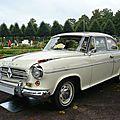 Borgward isabella de luxe berline découvrable 1961