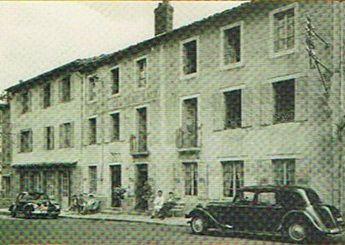 LA VIEILLE AUBERGE EN 1950