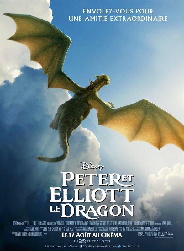 Peter et Elliott le Dragon affiche