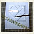 ♥ foundation paper piecing ou patchwork sur papier - tutoriel ♥