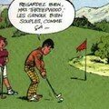 Lecon de golf