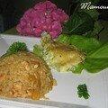 Dome de dinde au colombo et à la mangue