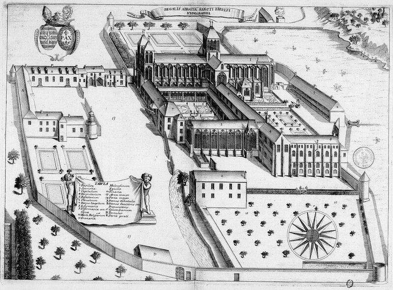 Abbaye_de_Saint-Évroult_dans_Monasticon_Gallicanum