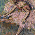 Degas' danseuse rose and femme sortant du bain to be offered at christie's
