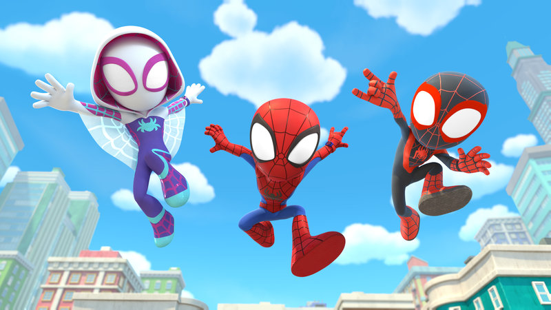 Spidey and his amazing friends 1