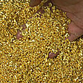 Import gold from africa