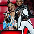 Amel et son talent vainqueur de la saison 6 de The Voice Kids SOAN