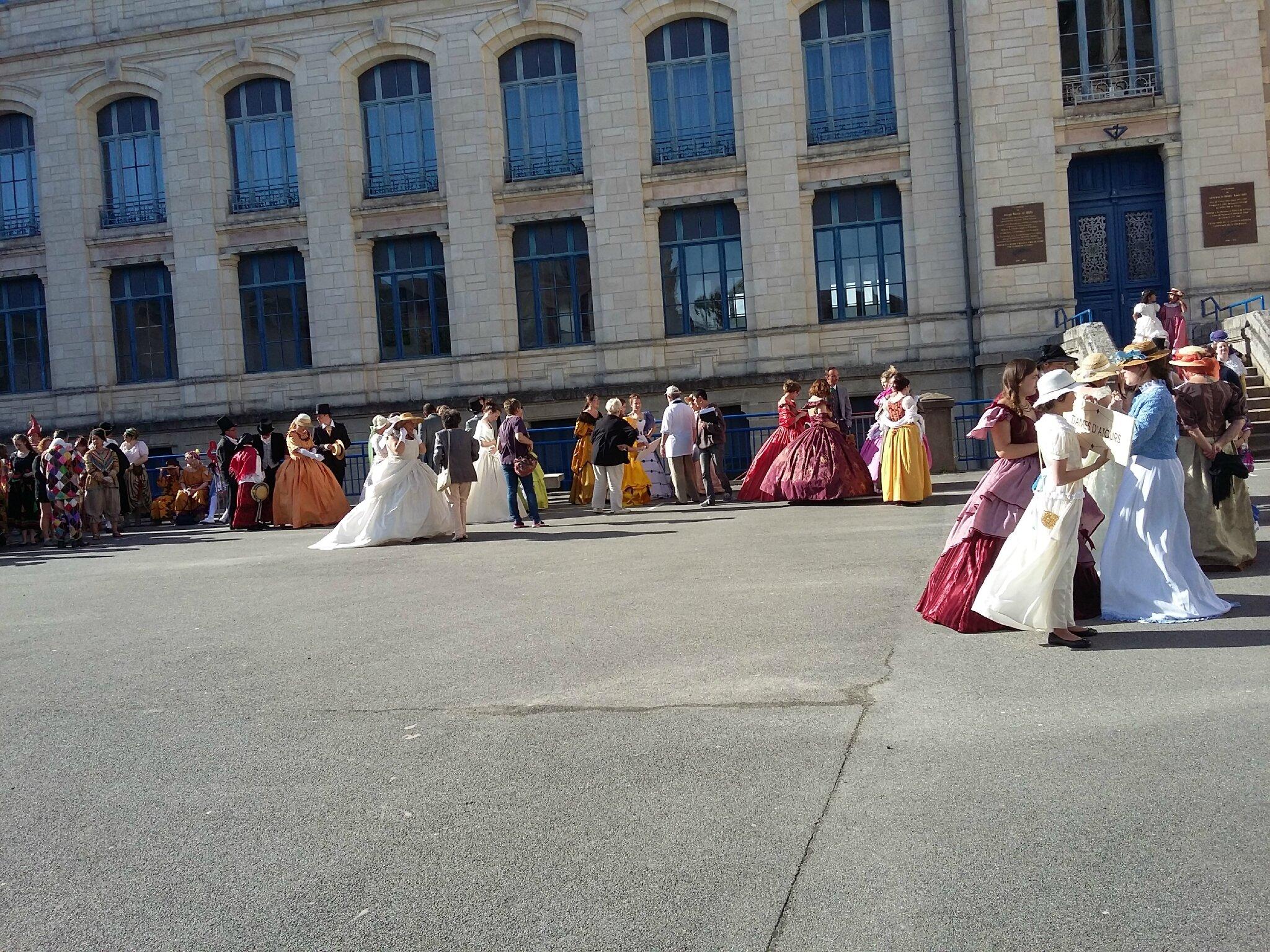 Fêtes historiques à Vannes (56) 2016