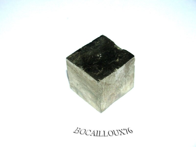 PYRITE 3 Cube Naturel - Pour LITHOTHERAPIE - DECO