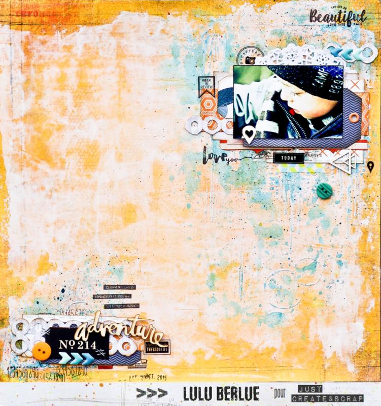 Just Create & Scrap #163 - Lulu Berlue