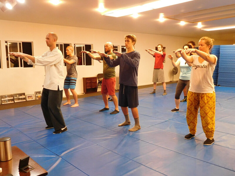 1&2 week Martial tai chi 1