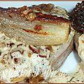 Filet mignon de porc aux morilles et à la crème