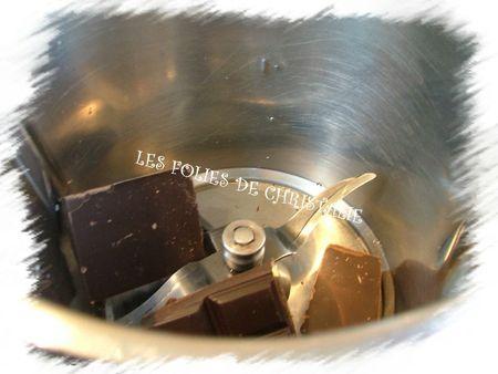 Bûche au chocolat 17