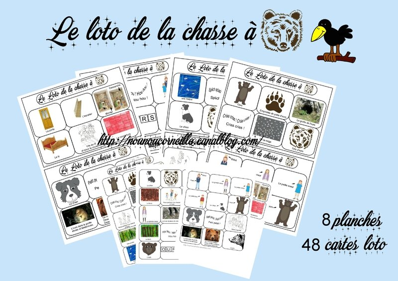Preview loto chasse à l'ours