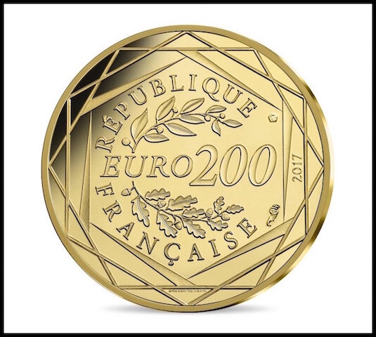 monnaie de paris 200 euros or 2