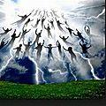 Wwiii : enlèvement de l'eglise du christ jésus, avant destruction de la vie sur terre, les riches se cachent sous terre, les ...