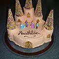 2010 Gâteau chateau de princesse