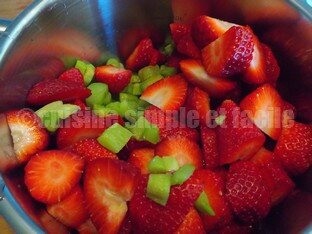 compote rhubarbe fraise 01