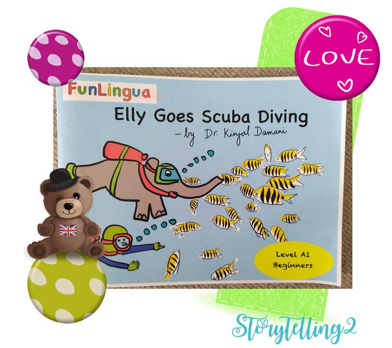 EDD et anglais cycle 2 : Elly goes scuba diving.