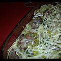 Lasagnes poireaux-saucisse