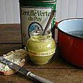 Soupe de lentilles vertes du puy à la moutarde à la verveine du velay