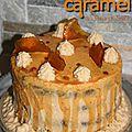 Layer cake au caramel beurre salé