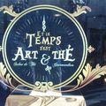 Et le temps s'est art & thé angers humour jeu de mots devanture salon de thé