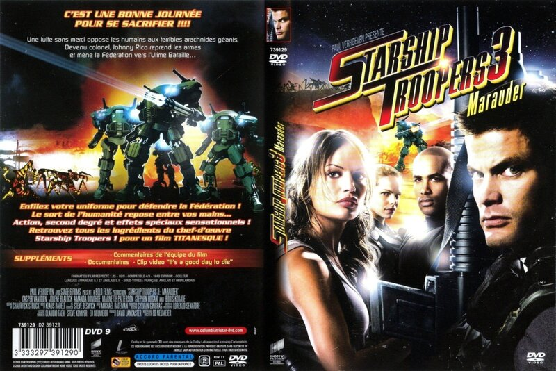 Jaquette Starship Troopers 3 : Marauder
