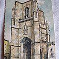 Villefranche de Rouergue - le clocher de Notre Dame