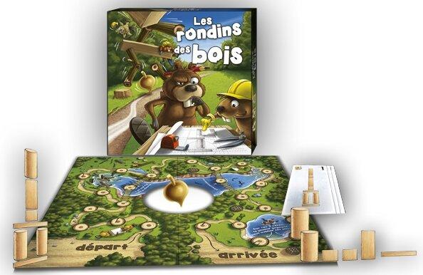 Boutique jeux de société - Pontivy - morbihan - ludis factory - Rondins des bois