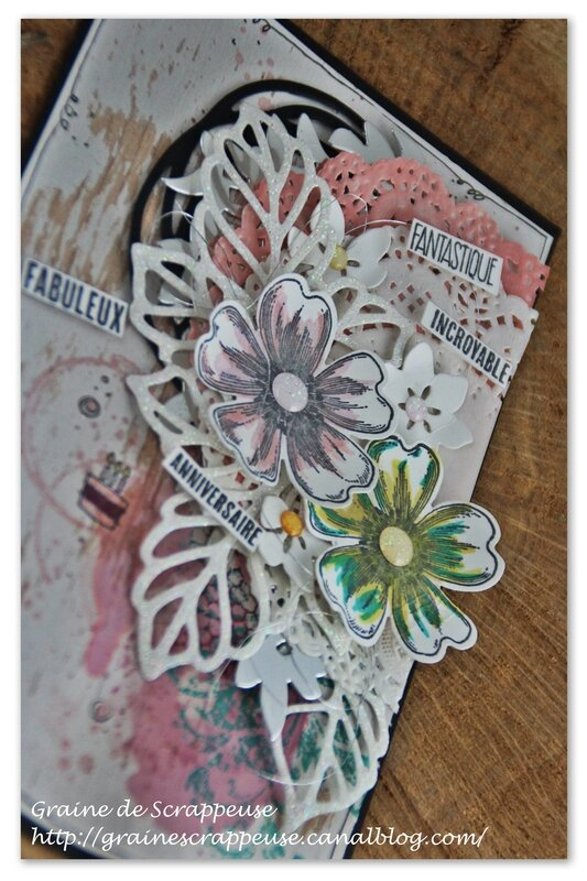 carte stampin'up anniversaire
