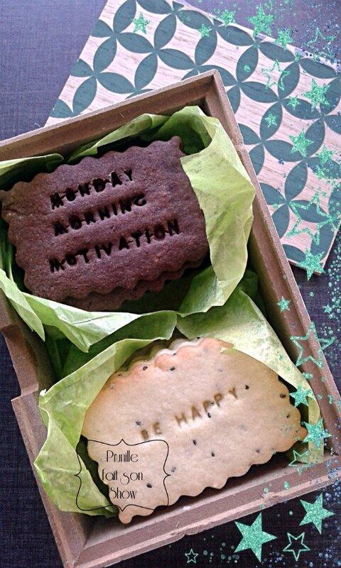 biscuits personnalisés prunille fait son show