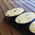 Crème semoule aux fruits secs