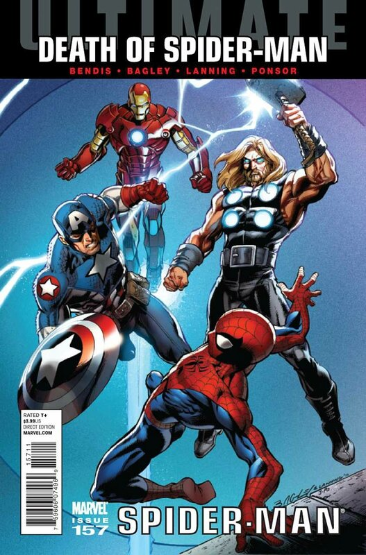 ultimate spiderman 157