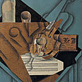 Juan gris's the musician's table acquired through new gift from leonard a. lauder- now on view