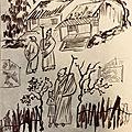 Exercices de peinture chinoise du jour !