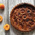 Tarte abricot-romarin au blender