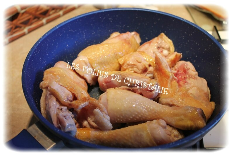 Poulet au curry 1