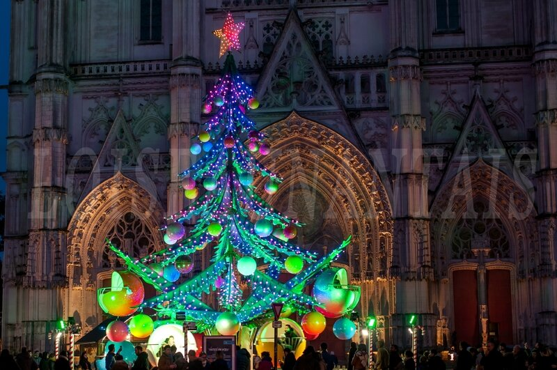 Cathédrale sapin Noël 2017 (6)