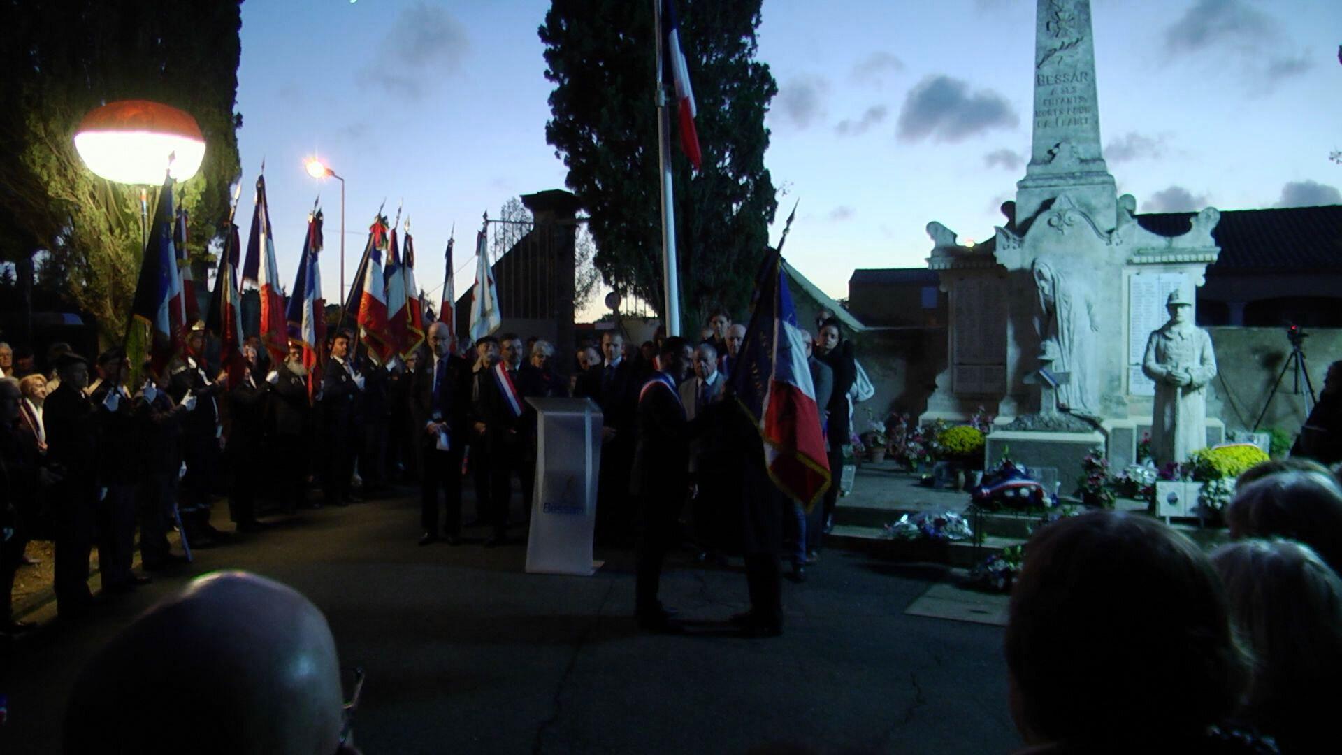 Centenaire de l'armistice 11 novembre 2018