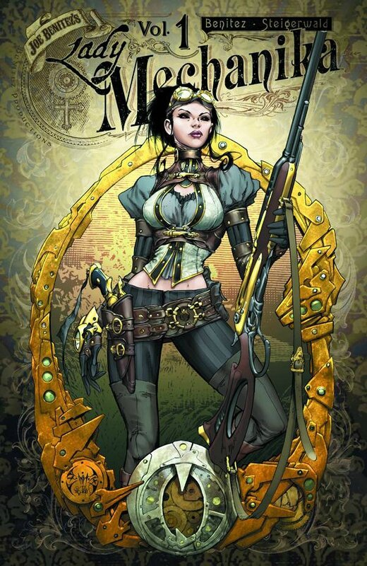lady mechanika vol 1 mystery of the mechanical corpse TP