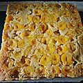 Gâteau tatin de mirabelles