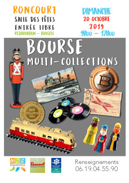Bourse multi-collection 2019