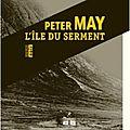 L'île du serment, de p. may - prix fnac rentrée littéraire