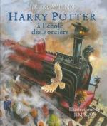 Harry Potter à l'école des sorciers couv