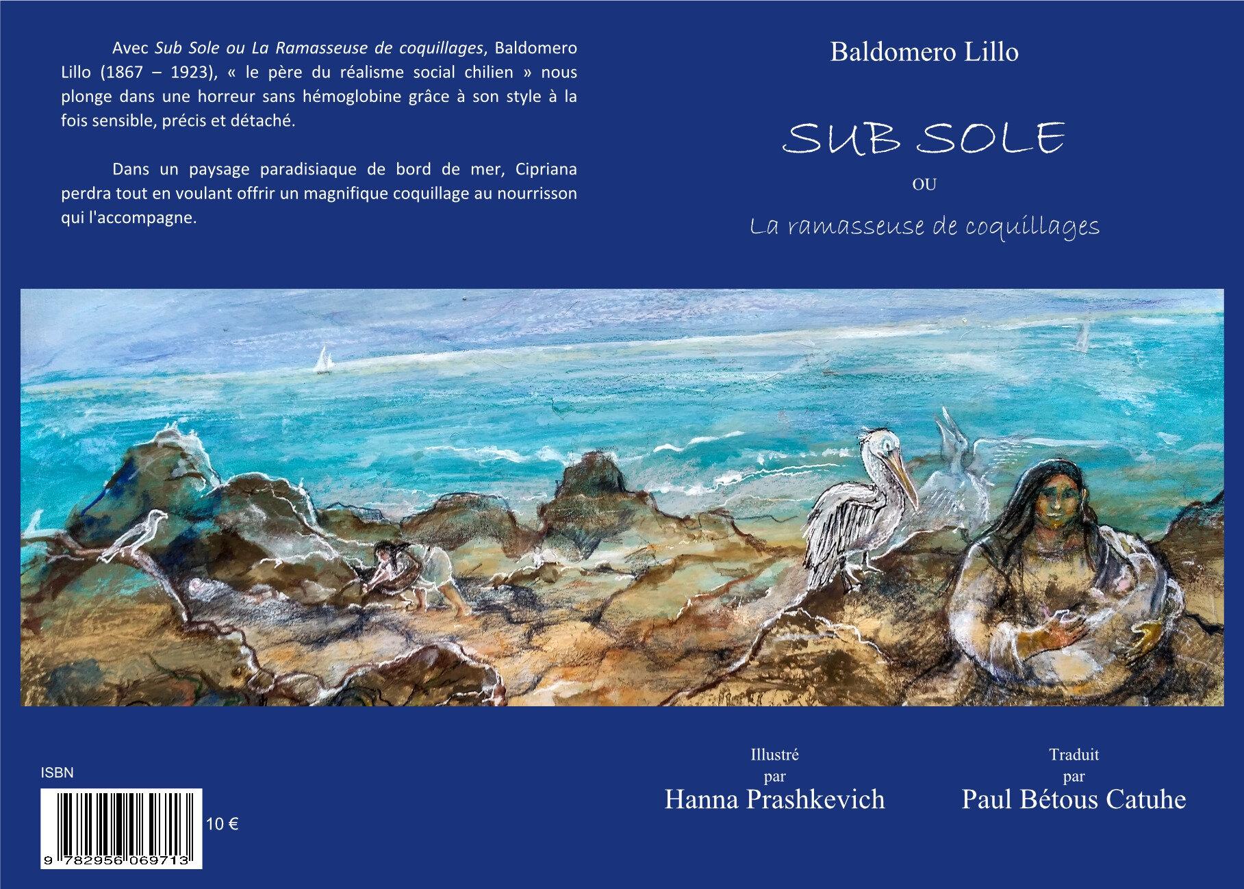 Sub Sole ou la ramasseuse de coquillages de Baldomero Lillo - en version illustrée.