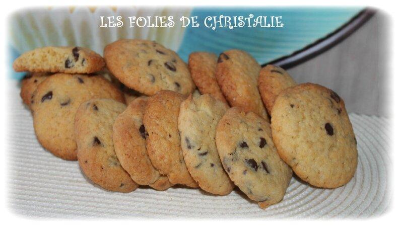Biscuits pépites de chocolat 2