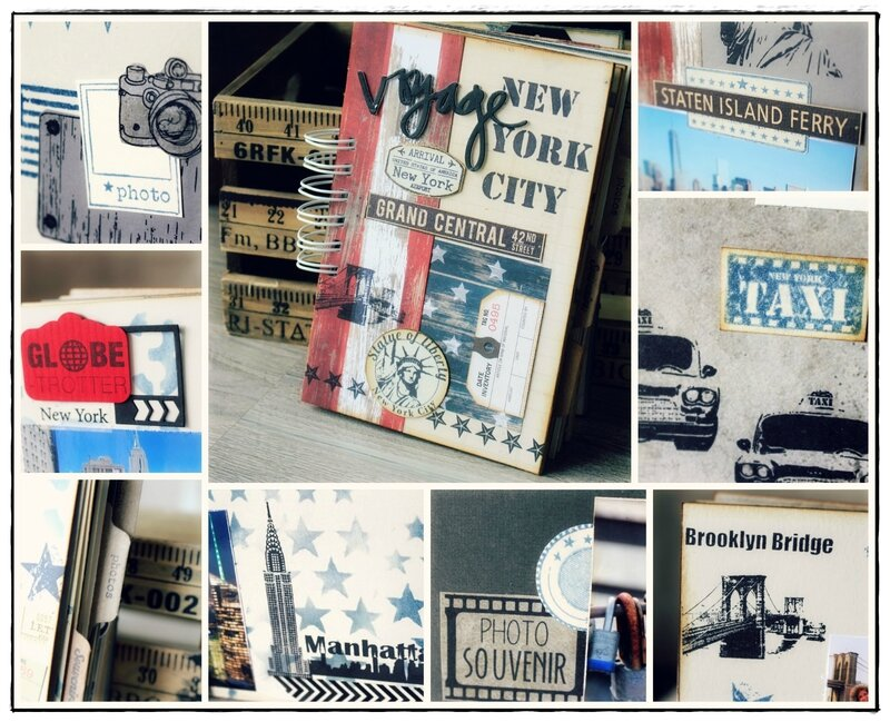 Collage album NY