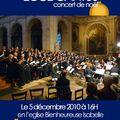 Concert de noël ecce cantus